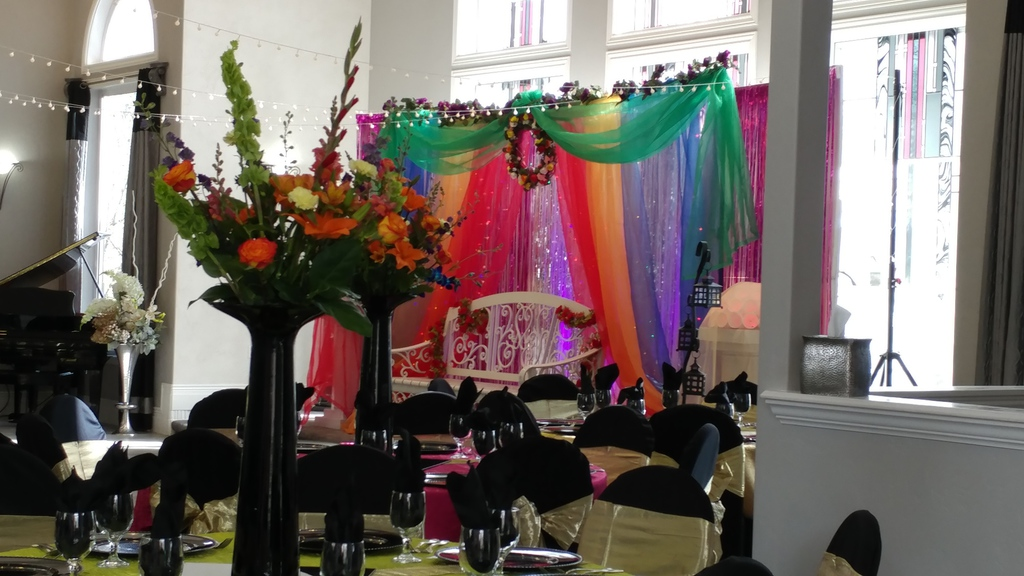 2-day henna ceremony and Reception
