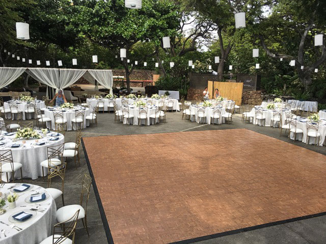 Portable-event-floor