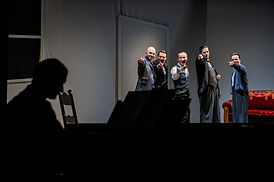 Comedian Harmonists in Zittau