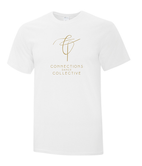 Cotton T-Shirt in WHITE