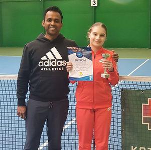 Anastasiia Protasova-akademia tenisa katarzyny Pyka