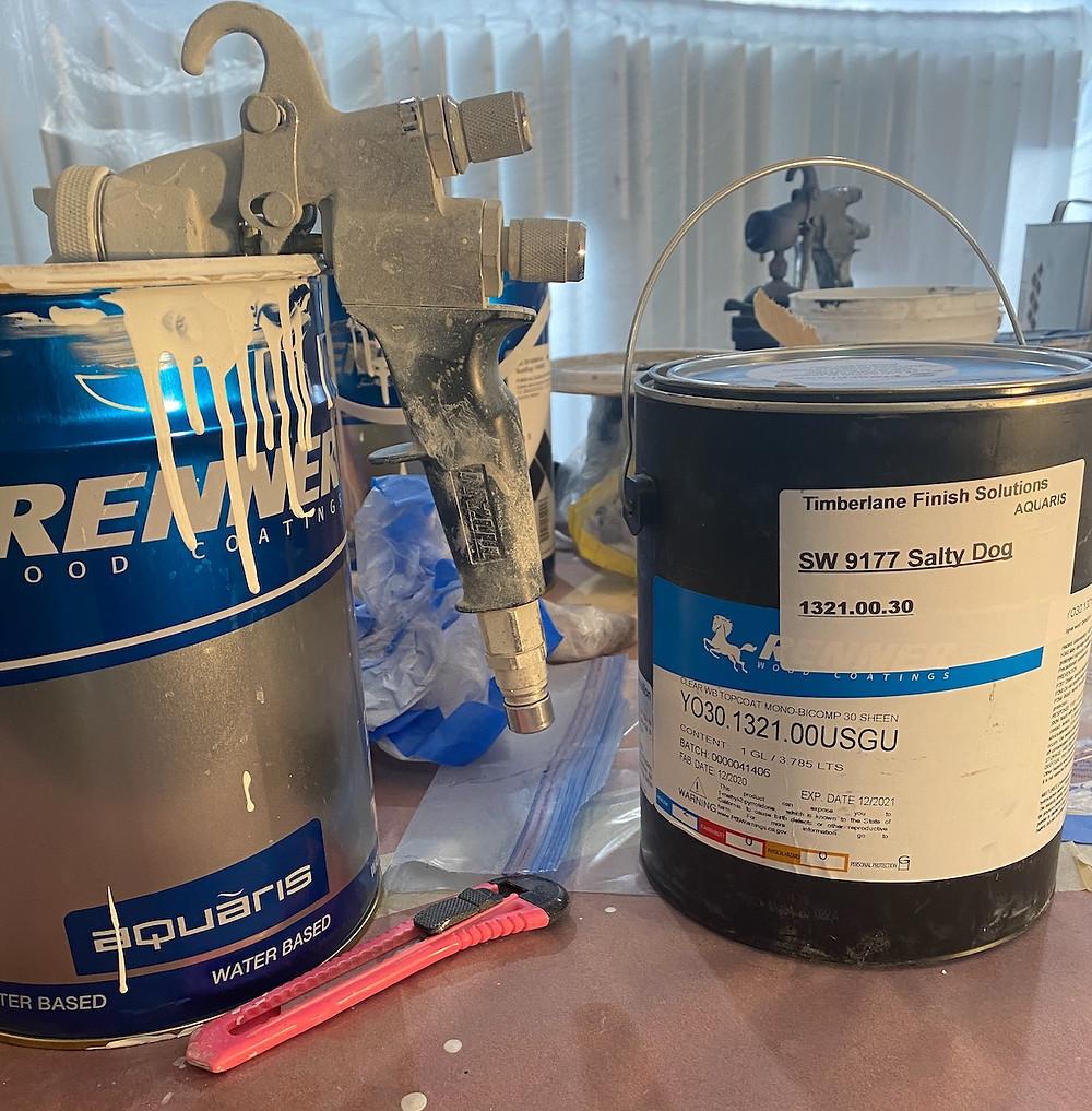 5 kg 643 Renner primer and 1 gallon 1321 Renner 30 finish