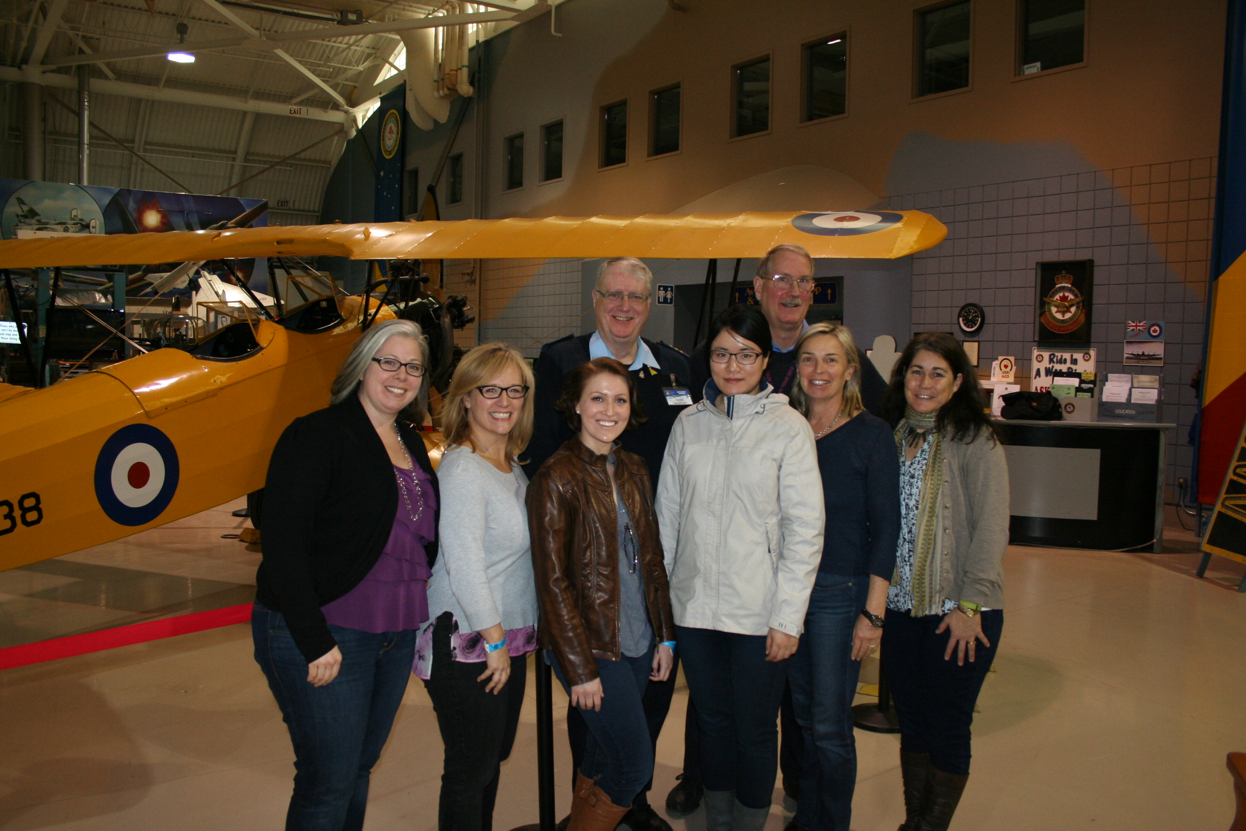 The 99's visit the CWHM
