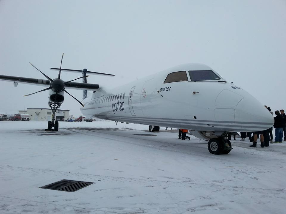 Q400 from Porter Air!