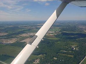 C150 flying