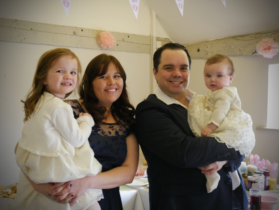 Molly & Lilly's Christening
