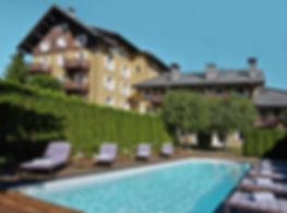 Où se marier à Megève - Hôtel Lodge Park