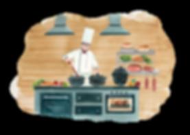 Cuisinier service 5 étoiles Megève