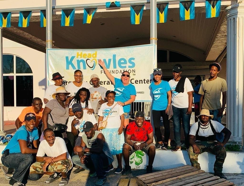 HeadKnowles Foundation on the ground distributing relief items