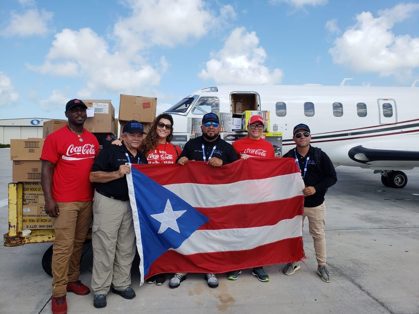 Caribbean Bottling Company recieving aid from Puerto Rico