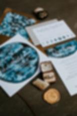 Wedding invitations and ring GOT theme - Rish Bridal