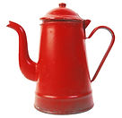 Red Tea Pot
