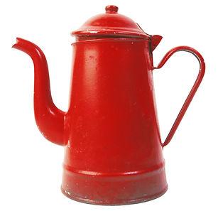 Red Tee-Topf