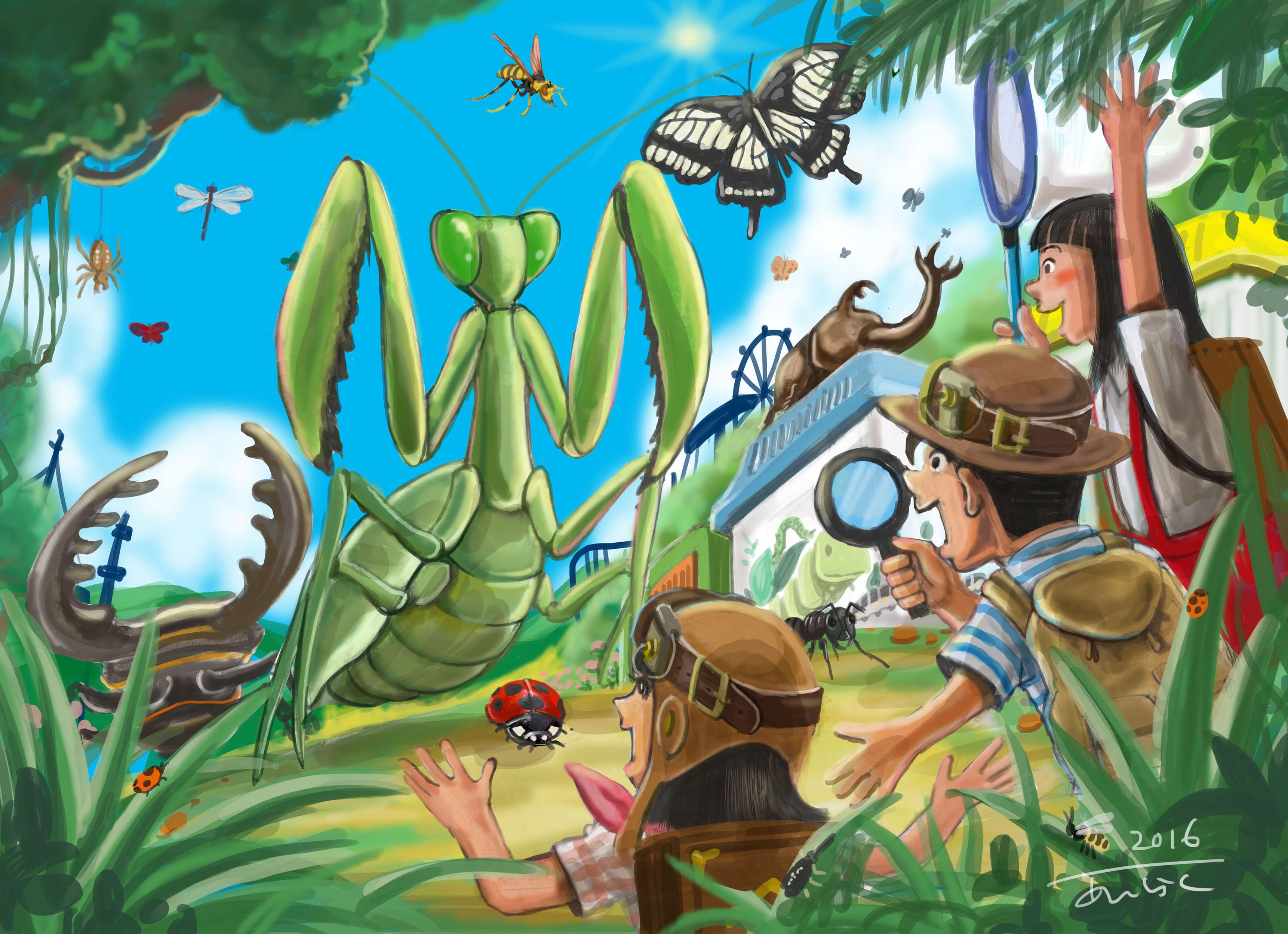 16昆虫展ポスター2