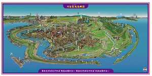 刈谷市鳥瞰図