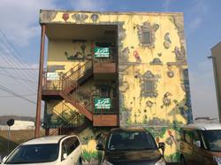 バリ風のアパート
