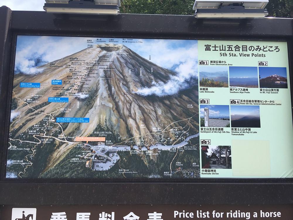 富士山 山梨県より