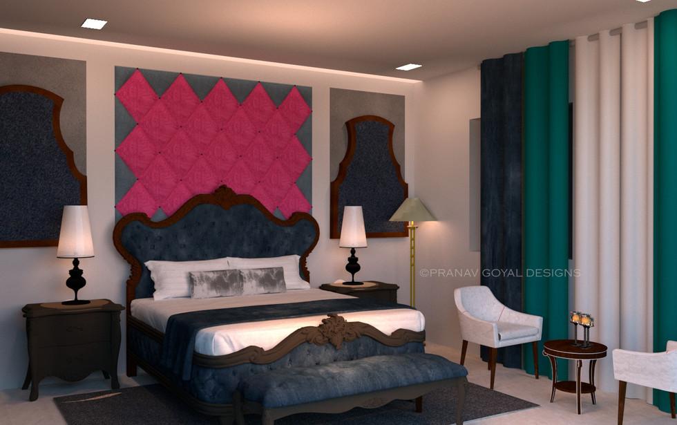 Pushkar Hotel Room