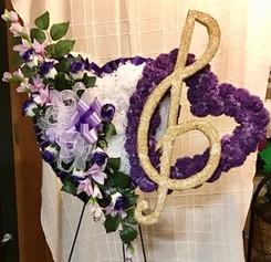Custom Double Music Heart S07