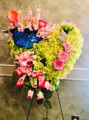 Custom Design Garden Heart S41