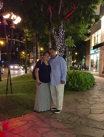 Pastor Jerry Menchaca and his wife Ruby