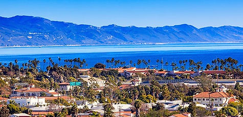Coast of Santa Barbara, CA