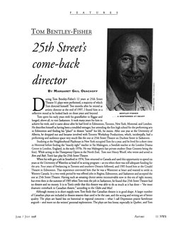 '25th Street's come-back director'
