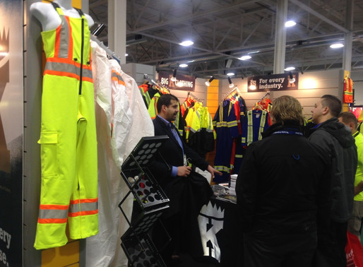 Helga Wear Hi-Vis Overall's journey to the Imprint Trade Show