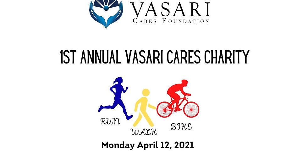 Vasari Cares 1st Annual Charity Fun Run Walk Bike