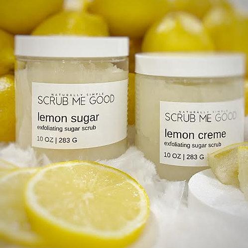 Love Lemon Exfoliating Sugar Scrub Duo