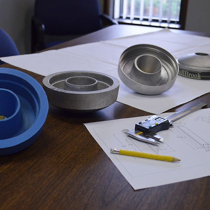 Sample Prototyped parts