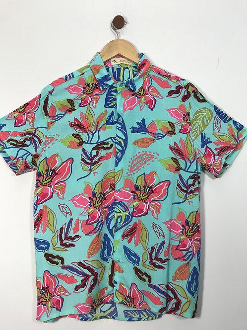 Camisa Floral - Dubalaio