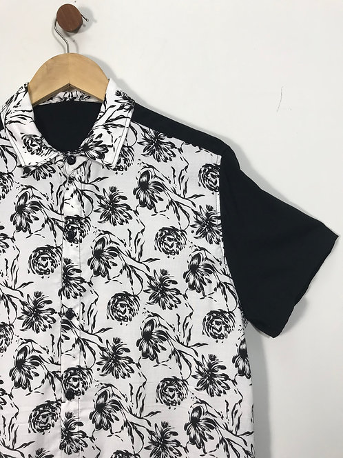 Camisa Floral PB - Du Balaio