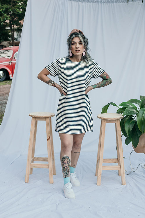 Vestido Camisetão - Cristie Atelier
