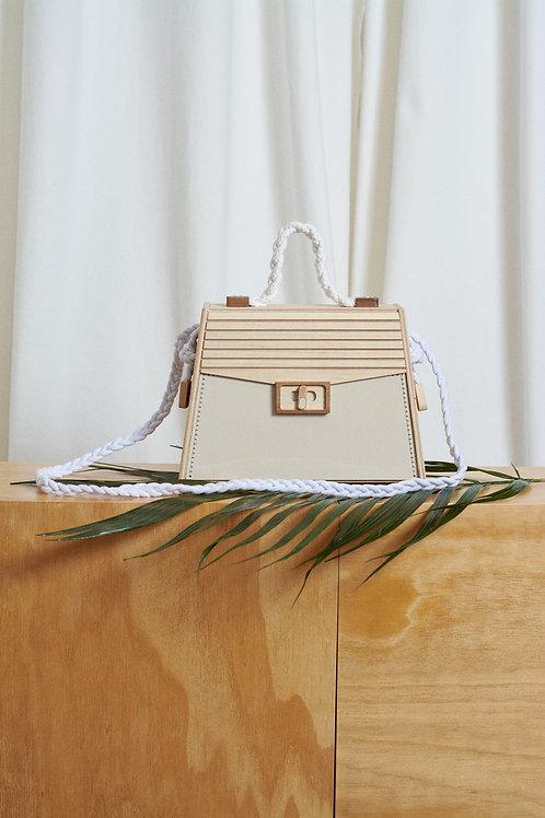 Bolsa Side Bag Trapézio - Lenha