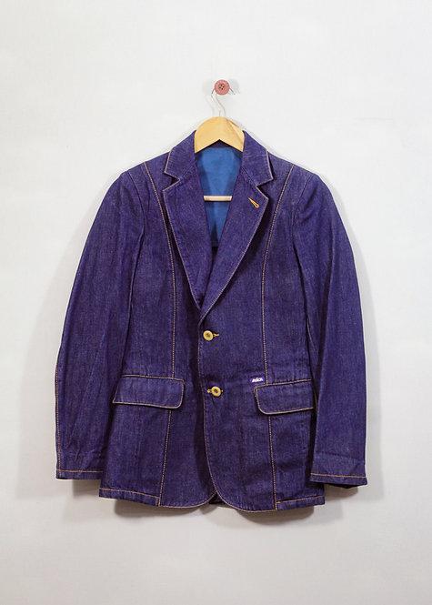 Blazer Jeans Anos 80 - Brechó