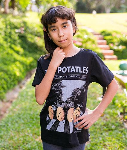 Camiseta Potatles Infantil - La Luz Brasil