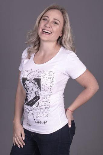 Camiseta Einstein Feminina - La Luz Brasil