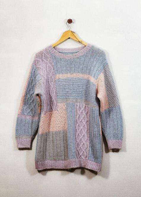 Blusão de Lã anos 90 - Brechó