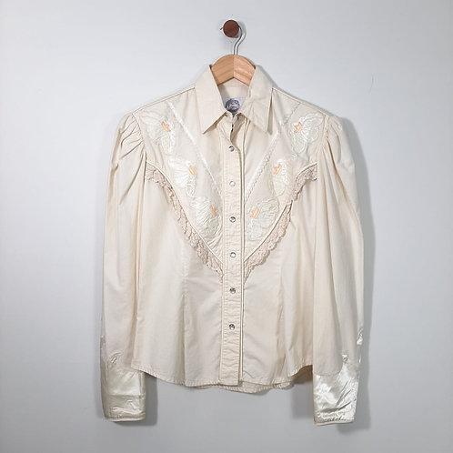 Camisa Vintage Western - Brechó