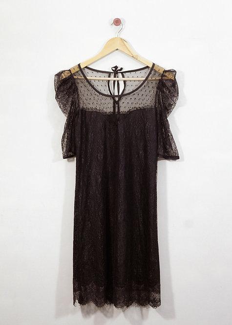 Vestido de Renda - Balaio de Gato Brechó
