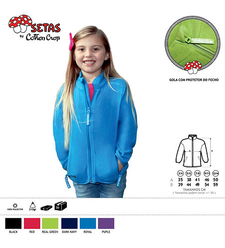 AITANA FULL ZIP KIDS