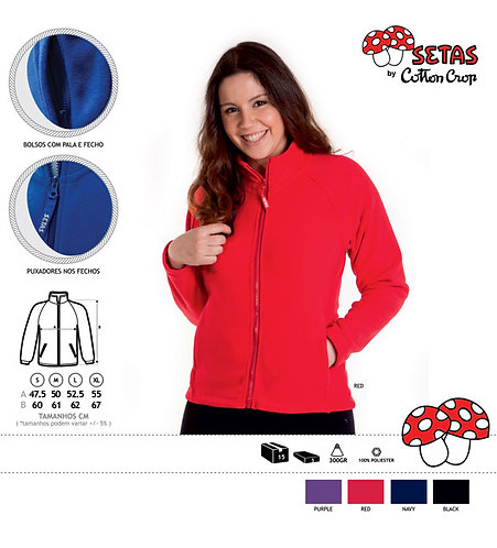 SETAS FULL ZIP WOMEN