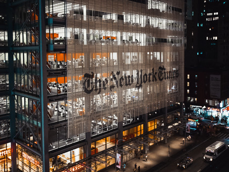 The New York Times and Rhythm Couture