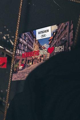 WBE GUTSCHEIN – 25€