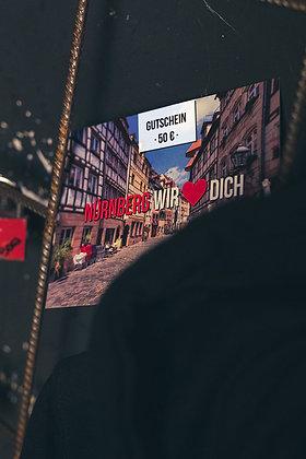 WBE GUTSCHEIN – 50€