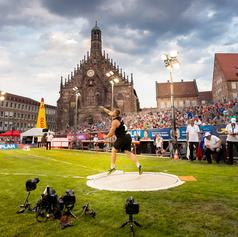 DLV Leichtathletik Hauptmarkt Nürnberg