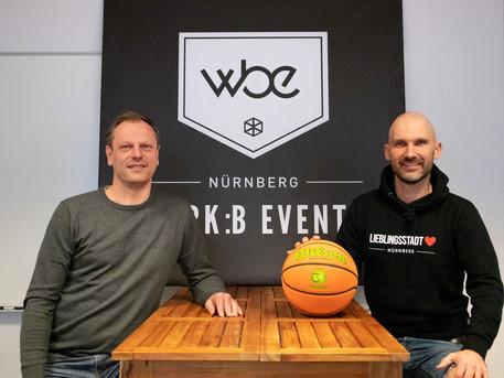 Nürnberg Falcons & werk :b events 2.0 für die Vision BBL