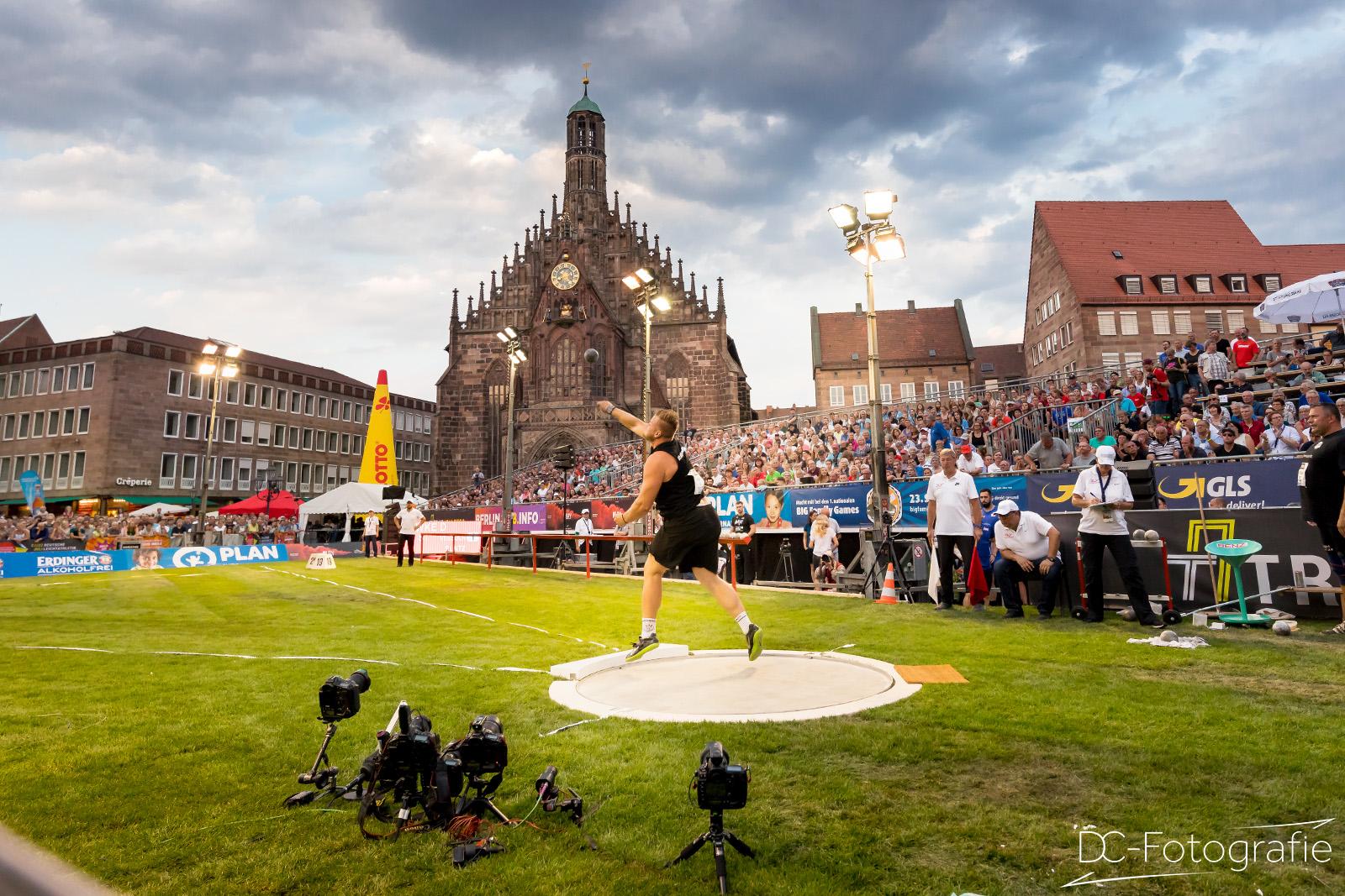 Leichtathletik Hauptmarkt Nürnberg
