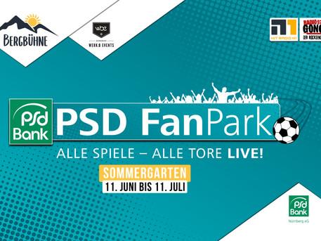 Anpfiff für den PSD Eventsommer 2021 auf der Bergbühne Nürnberg